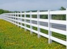 Kwikfynd Pvc fencing agneswater